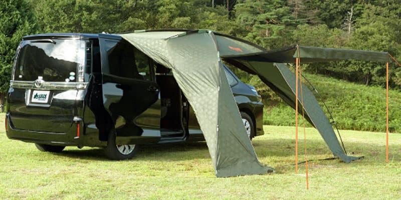 車中泊にも使えるおすすめのカーサイドタープ6選!