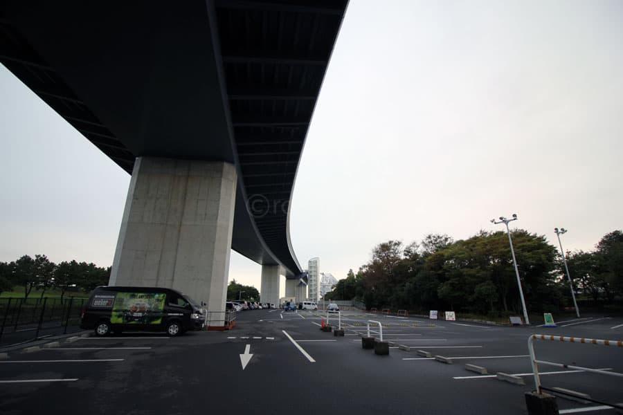 東京ゲートブリッジ高架下駐車場