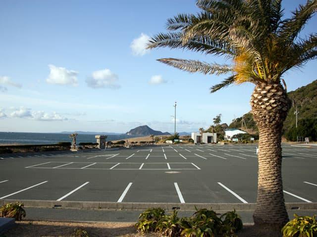 恋路ヶ浜駐車場
